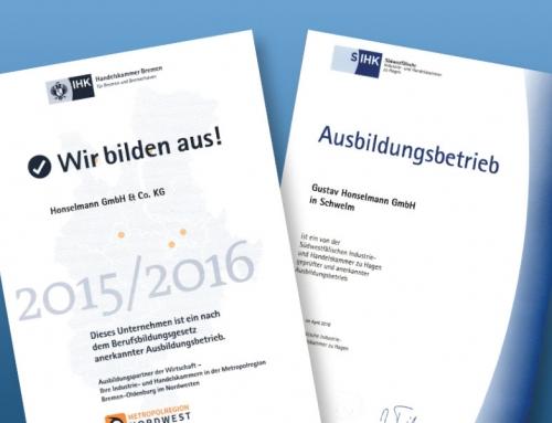 Ausbildungsinitiative 2016/2017