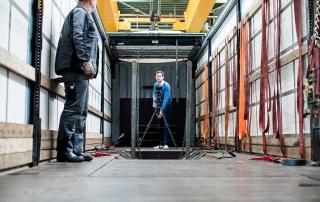 Honselmann - DAF - Dreharbeiten