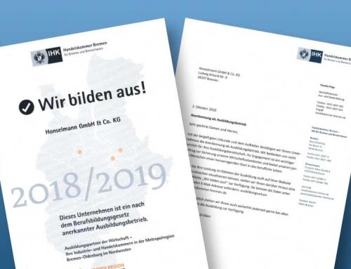 Ausbildungsinitiative 2018/2019