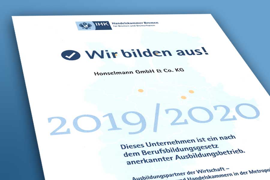 Ausbildungsinitiative 2019-20